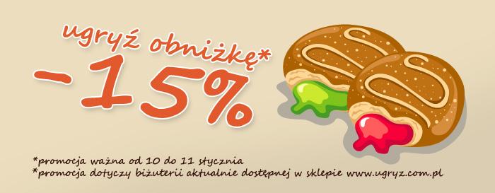 obniżka -15%