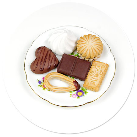 magnet plate of sweets no. 3