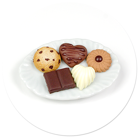 magnet plate of sweets no. 4