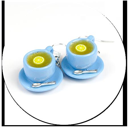 kolczyki filiżanki z herbatą nr 4