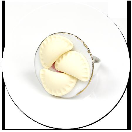pierścionek z pierogami nr 2