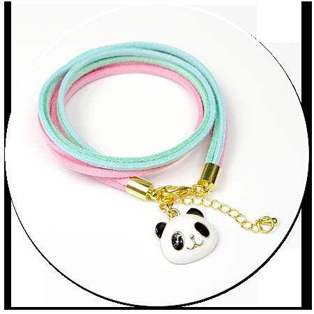 bransoletka z pandą