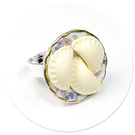 pierścionek z pierogami nr 7