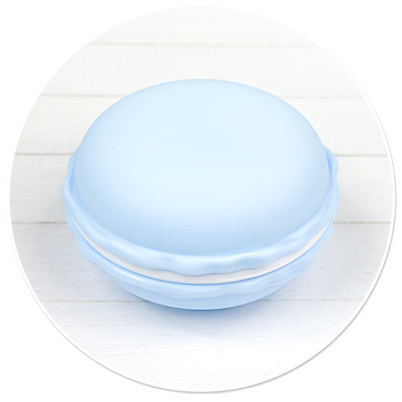 pojemnik niebieski makaronik