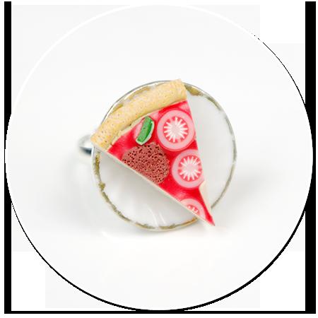 pierścionek z pizzą