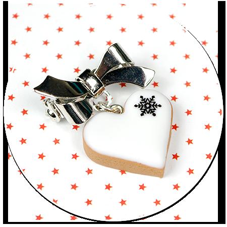 mini broszka świąteczne ciasteczko nr 5