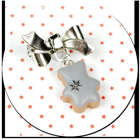 mini broszka świąteczne ciasteczko nr 7