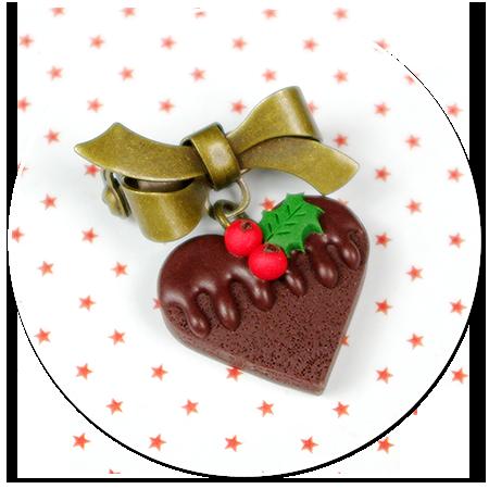 mini broszka świąteczne ciasteczko nr 11