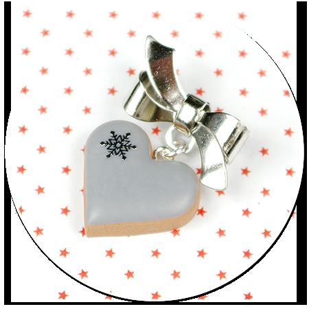 mini broszka świąteczne ciasteczko nr 4