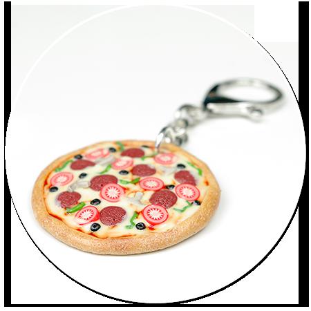 breloczek pizza nr 2