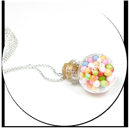naszyjnik kula z cukierkami nr 5