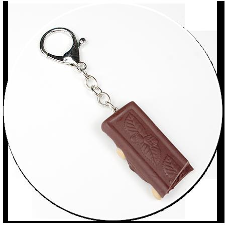 breloczek czekolada z orzechami nr 2