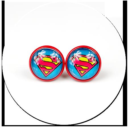 kolczyki SUPERMAN nr 3