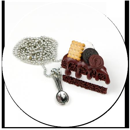 naszyjnik tort czekoladowy nr 3