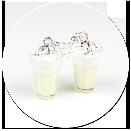 kolczyki koktajl mleczny nr 3
