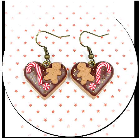 kolczyki świąteczne ciasteczka nr 9