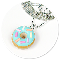 necklace with donut no. 3