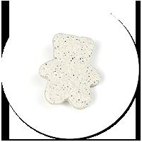 brooch teddy bear from stone no. 2