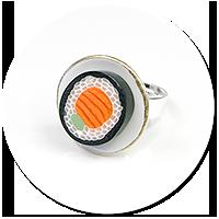 pierścionek sushi