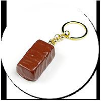 keyring chocolate candy no. 2