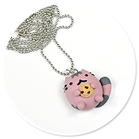necklace pusheen no. 4