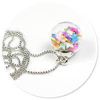 necklace ball with candies no. 9