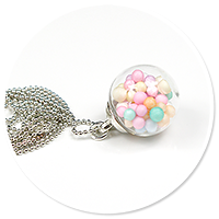 necklace ball with candies no. 11