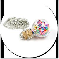 naszyjnik kula z cukierkami nr 2