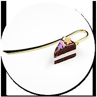 zakładka z tortem czekoladowym nr 3