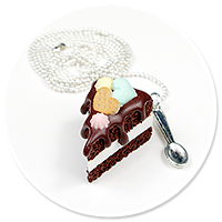 necklace chocolate cake no. 2