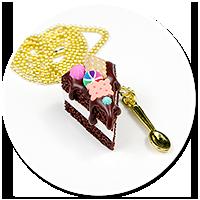 naszyjnik tort czekoladowy nr 9