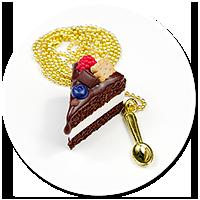 naszyjnik tort czekoladowy nr 10