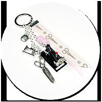 keyring for dressmaker (machine) no. 4