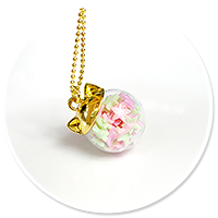 necklace kitty ball with candies