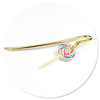 bookmark with lollipop no. 2