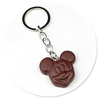keyring chocolate with mouse no. 4