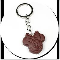 breloczek czekoladka z myszką