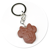 keyring chocolate with mouse no, 2
