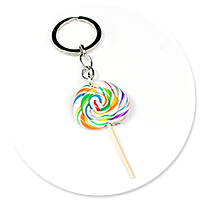 keyring with lollipop