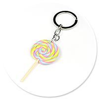 keyring with lollipop no. 2