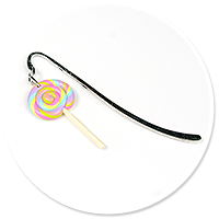 bookmark with lollipop no. 4