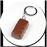 keyring chocolate candy
