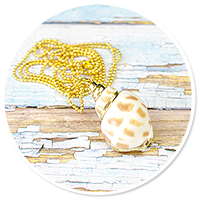 sailor's necklace with shell no. 2