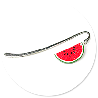 bookmark with watermelon