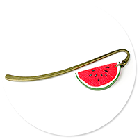 bookmark with watermelon no. 2