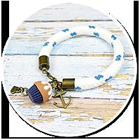 sailor's bracelet with cupcake no. 4