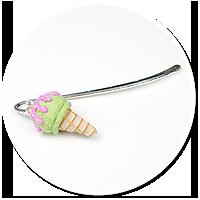 bookmark with ice cream no. 2