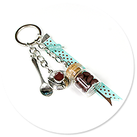 keyring with coffee no. 2