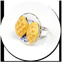 pierścionek z oscypkami