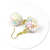 earrings ball with candies no. 4